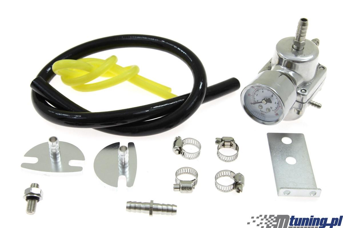 Regulator ciśnienia paliwa TurboWorks FPR01 SILVER - GRUBYGARAGE - Sklep Tuningowy